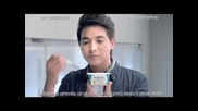 Тайландска реклама на българско кисело мляко