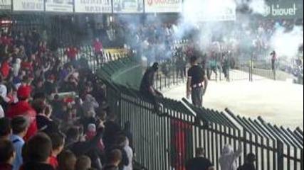 Армейци Добрич : лудогорец - Ц С К А София 1:0 (22.09.2012)