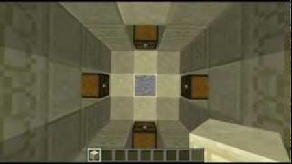 Minecraft- Seed Spotlight #1 (desert Village,surface Dungeon and a Pyramid)