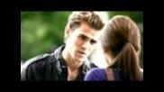 Stefan And Elena.