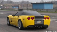 Corvette Z06 with Borla Exhaust Loud Sound!