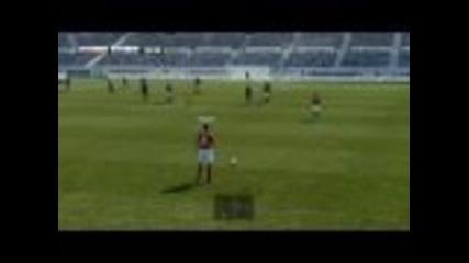 Pes 2011 - Manchester United vs Fc Barcelona - Gameplay