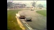 Bmw M1 Procar race at Donnington , Hans Stuck , Manfred Winkelhock