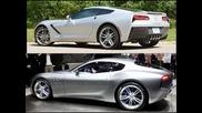 2015 Maserati Alfieri Concept vs. 2015 Chevy Corvette Stingray