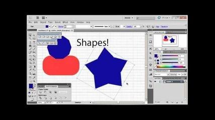 Adobe Illustrator Cs5 Tutorial 2 | Shapes