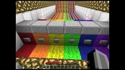 Minecraft - Rainbow cart punch