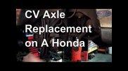 Смяна на полуоска на Honda Accord