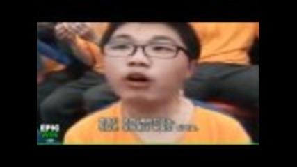 Нечовешка корейска хореография на футболен мач