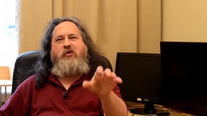 Ричърд Щолмън говори за Ubuntu Linux