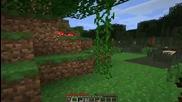 Minecraft Survival Ep.1 Първа нощ