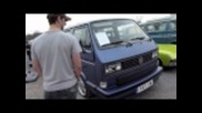 Campervanculture.com Sandown park Vw Show carpark action..2011