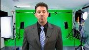 Как да смените фона на видеото като първоначално използвате зелен фон