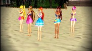 [mmd] Gee - Club Winx models [hd]