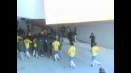 Сблъсъка на Неймар и треньора на Венецуела след мача