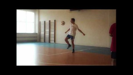 Styllball Bomb 2011 / The Piledriver / Freestyle Football / Creative