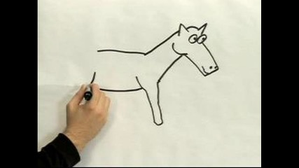 Как да нарисуваме конче?