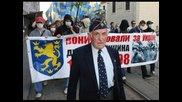 В Львов отбелязаха 71г. от дивизия Сс Галичина 27.04.2014