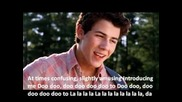 Introducing Me - Nick Jonas (official video and lyrics)