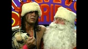 Bret Hart tells Santa what he wants for Christmas