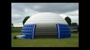 Надуваеми палатки