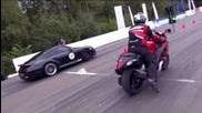 Suzuki Gsx1300 vs Porsche 911 Switzer R750