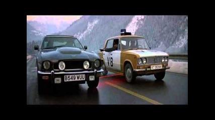 Aston Martin vs Lada