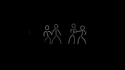 Led Light Dance Happy 'vs' Halloween