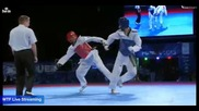 Puebla World Taekwondo Championships 2013 - Final -63 kg - Kor vs Mex