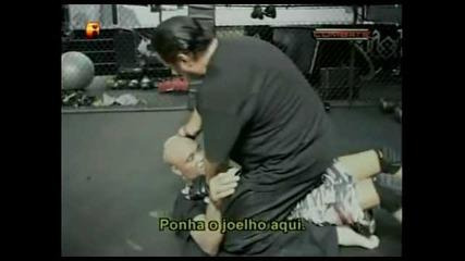 Anderson Silva and Steven Seagal