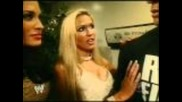John Cena Backstage with Michelle Mccool, Rochelle & Lauren