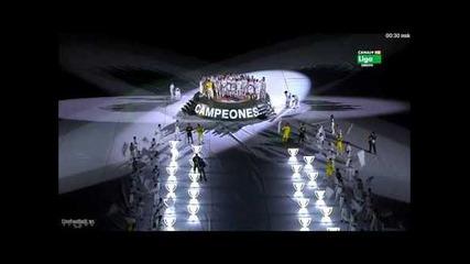 Уникaлната церемония по награждаването на Реал Мадрид!!! *13.05.2012г.*