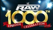 """2012: Wwe Monday Night Raw 1,000th Episode Theme Song - """"tonight is the Night"""""""