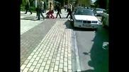 Полицаи се чудят как да санкционират шофьор [ 2-ра част ]