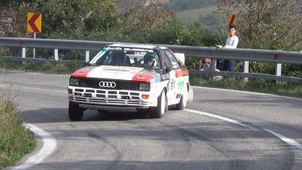 Best of Audi Urquattro rally drift