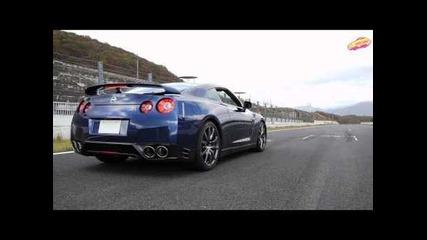 Nissan Gt-r с рекорд за ускорение