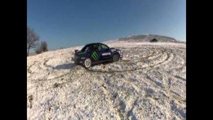 Subaru Team Of Burgas 13/01/2013 drift