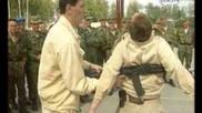 Шокиращи кадри на безконтактен бой - спецназ
