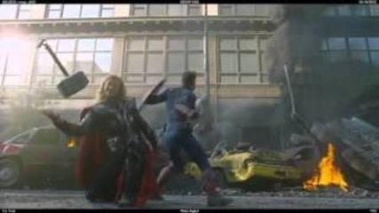 The avengers - Почти го хвана