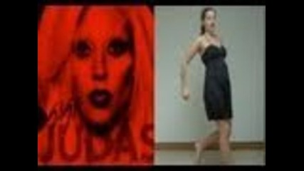 Lady Gaga - Judas..dance tutorial