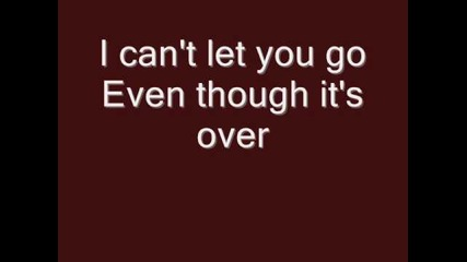 Rainbow - Can't let you go with lyrics