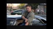 Jensen Ackles singing ''eye of the tiger''