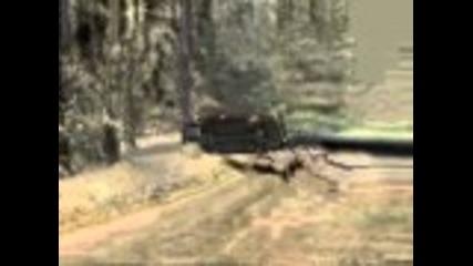 Colin Mcrae Rally 04 crash