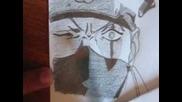 ''sharingan Activated'' Kakashi Series drawing 4 - Drawing Naruto