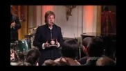 Paul Mccartney In Performance At The White House (complete)