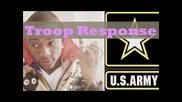 Soulja Boy Disses Army Troops & Troop Replies