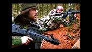 """Airsoft War M4 G36 M16 Ak47 M249 Gr300 """"crazy Dutch"""" in Scotland"""
