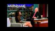Selena Gomez - Habla de Justin Bieber - Entrevista