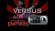 Age of Empires vs. Total War