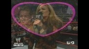 Maria vs Vicrotia w/ Candice and Torrie (maria Kiss Cam)