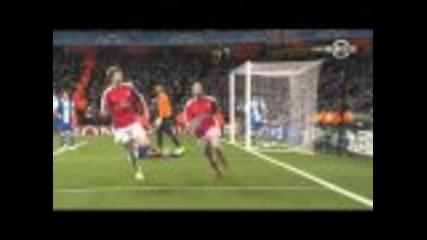 Arsenal - Fc Porto: 5 - 0 Champions League 2010